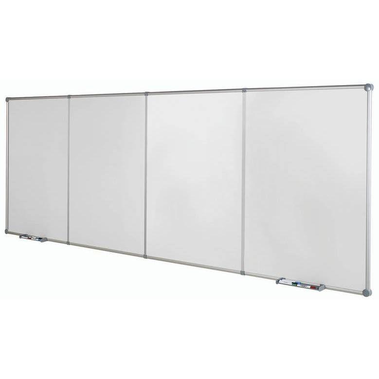 Tableaux blanc continu,120 x 90 2 modules de base portrait gris