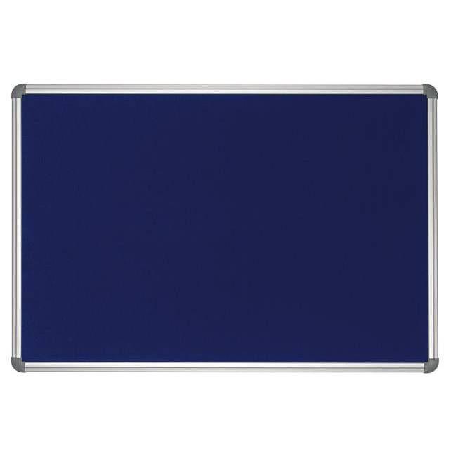 Tableau office textile 90 x 120cm bleu