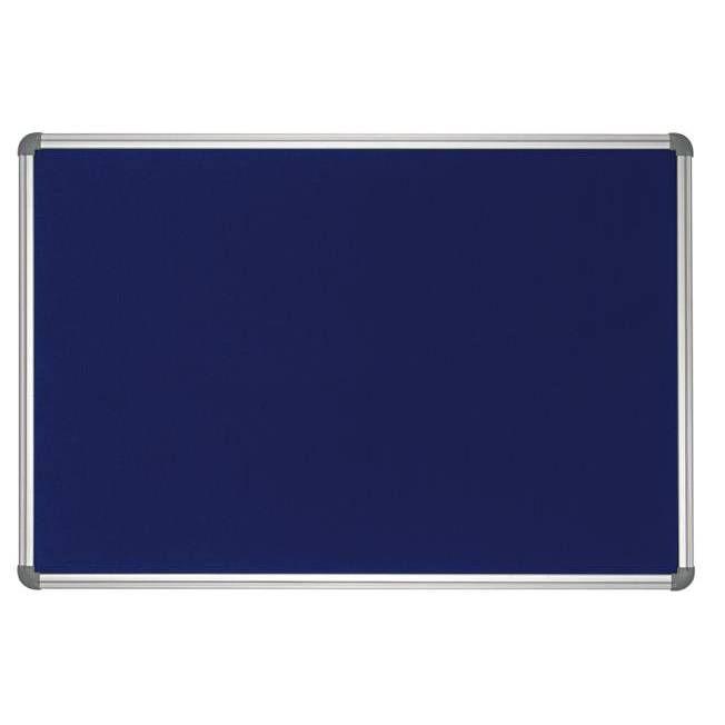 Tableau office textile 90 x 180 cm bleu