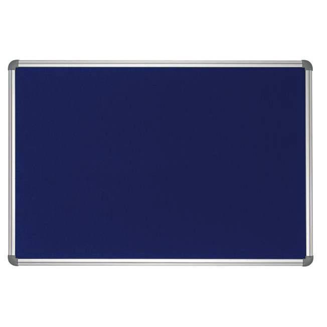 Tableau office textile 100 x 150cm bleu