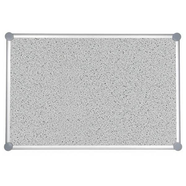 Tableau pour punaises 2000 pro structuré 60 x 90 cm gris