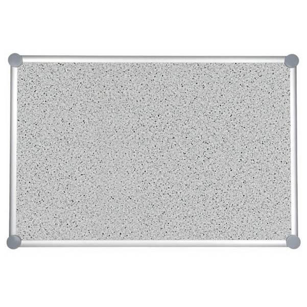 Tableau pour punaises 2000 pro structuré,90 x 120 cm gris