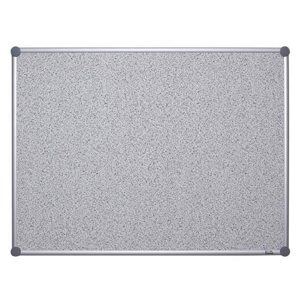 Tableau pour punaises 2000 pro structuré,100 x 150cm gris