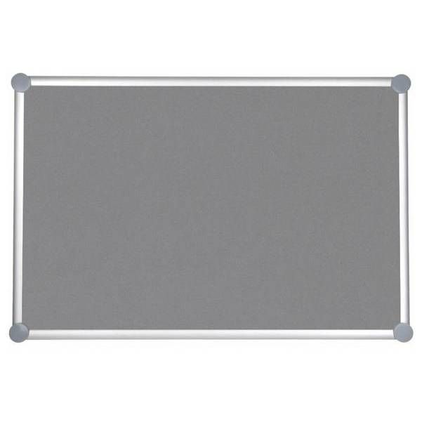 Tableau pour punaises 2000 pro textile 90 x 20 cm gris