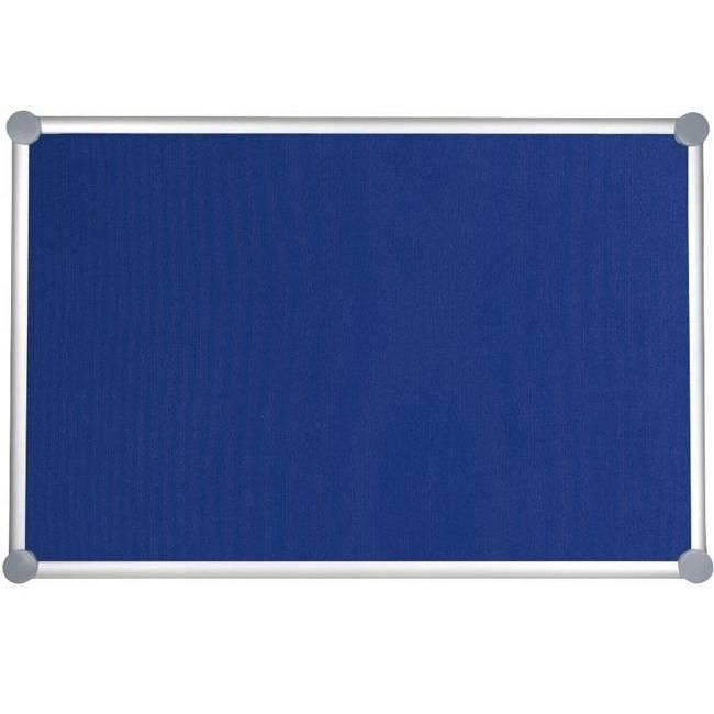 Tableau pour punaises 2000 pro textile 90 x 180 cm bleu