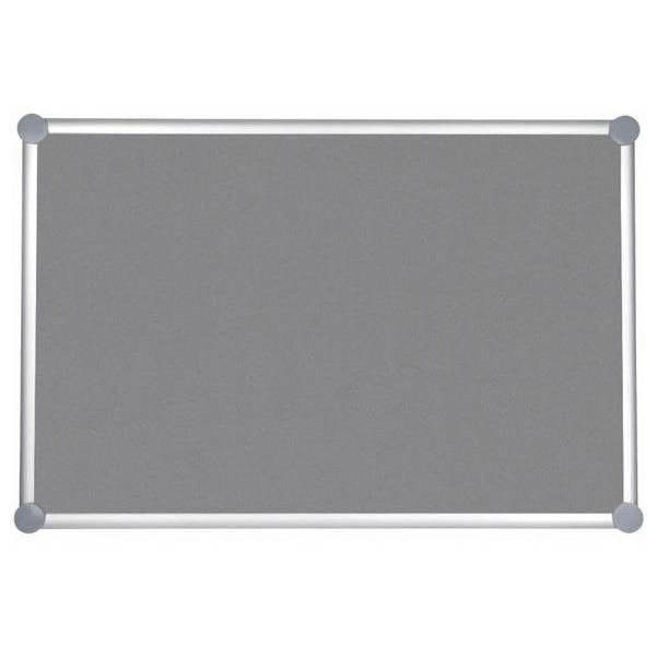 Tableau pour punaises 2000 pro textile 90 x 180 cm gris