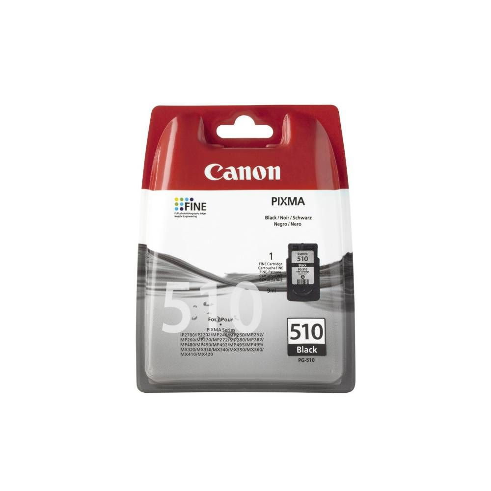 Canon cartouche jet d'encre d'origine coloris noir pg-510