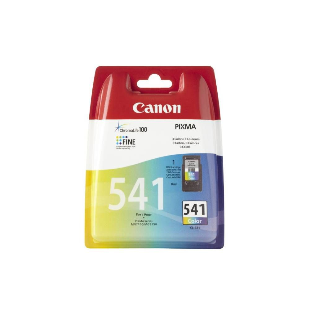 Canon cartouche jet d'encre d'origine cl-541 sec 3 couleurs