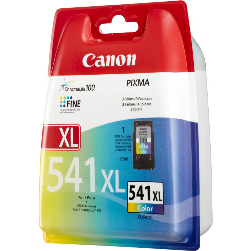 Canon cartouche jet d'encre d'origine cl 541xl 3 couleurs