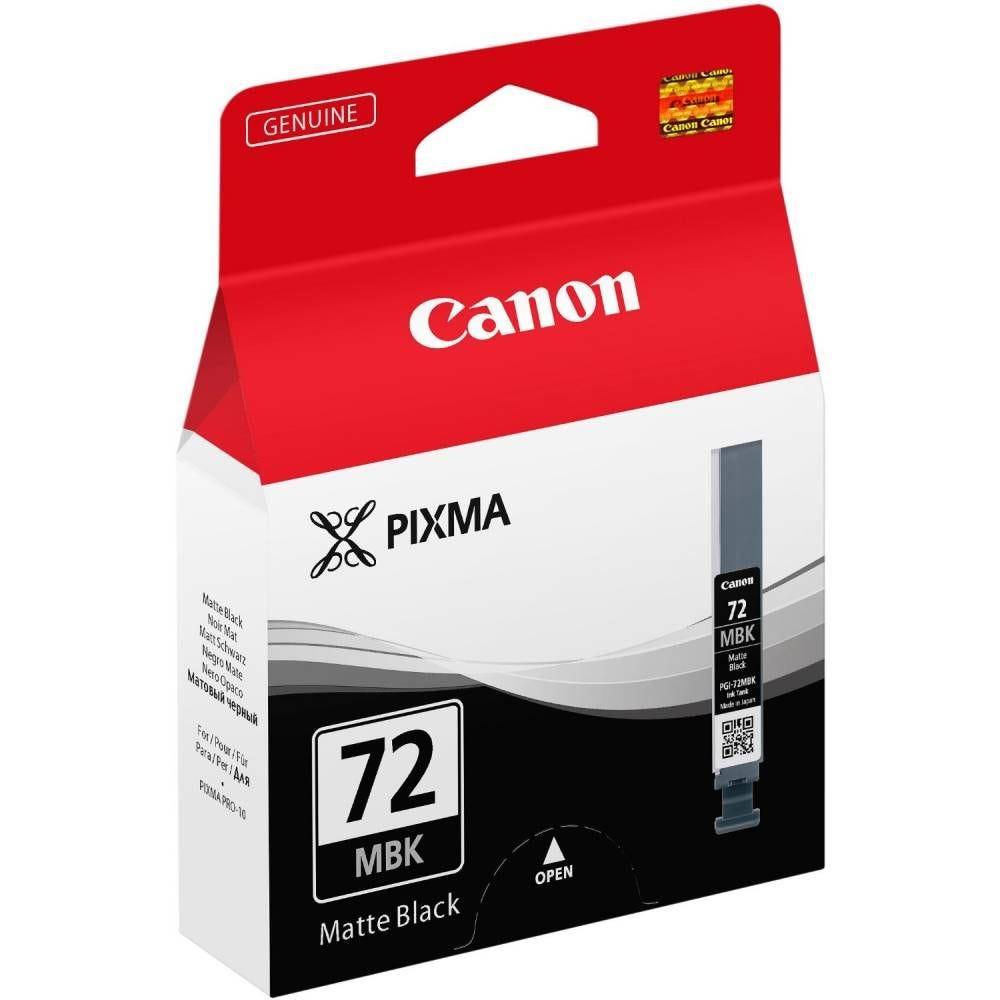 Canon canon pgi-72mbk original réservoir d'encre coloris noir mat