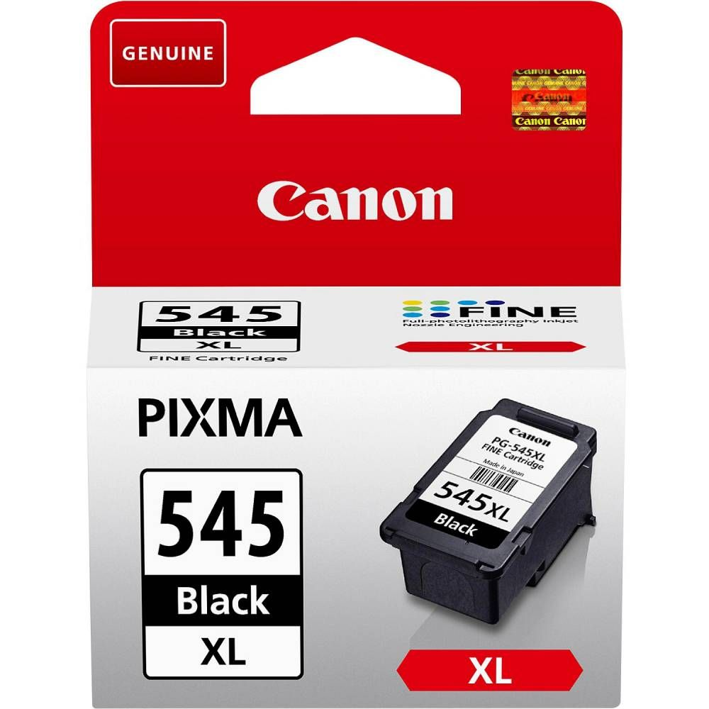 Canon cartouche jet d'encre d'origine pg-545xl coloris noir