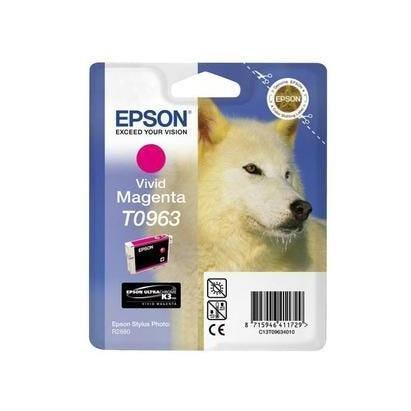 Epson cartouche jet d'encre d'origine magenta c13t096340