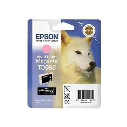 Epson cartouche jet d'encre d'origine magenta clair c13t096640