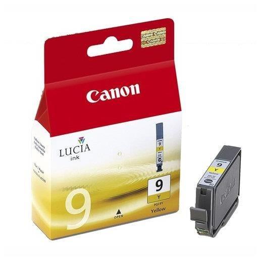 Canon cartouche jet d'encre d'origine jaune pgi-9 y 1037b001