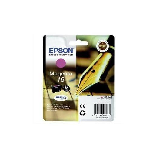 Epson cartouche jet d'encre d'origine magenta c13t16234010