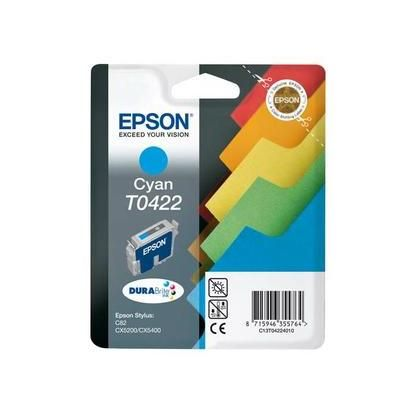 Epson cartouche d'encre d'origine cyan pr stylus c82 ref c13t042240