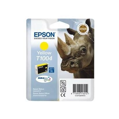 Epson cartouche jet d'encre d'origine jaune t100440