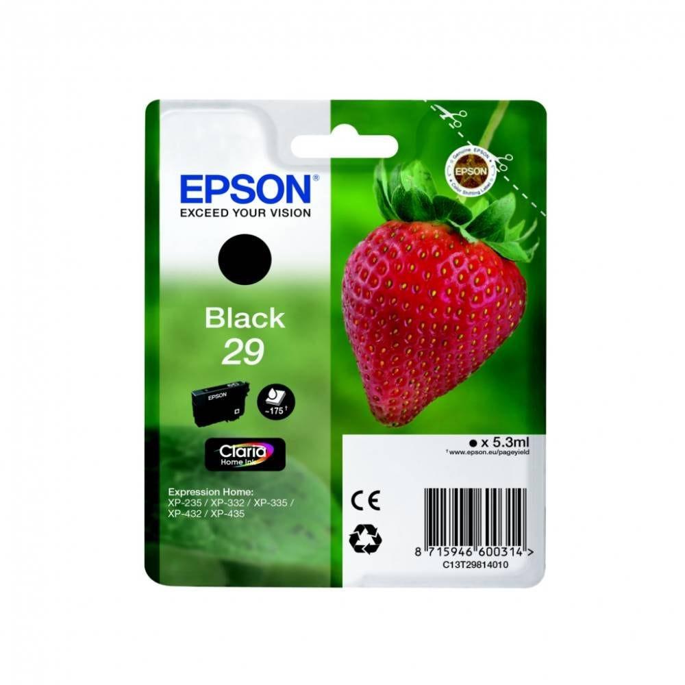 Epson cartouche d'encre d'origine coloris noir t2981 (5 ml) capacité 175 pages
