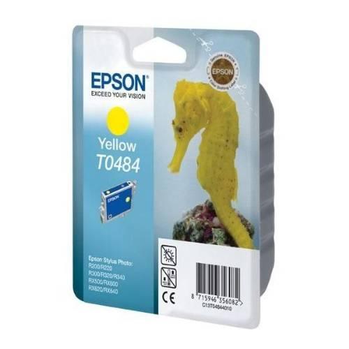 Epson cartouche jet d'encre d'origine jaune ref t048440