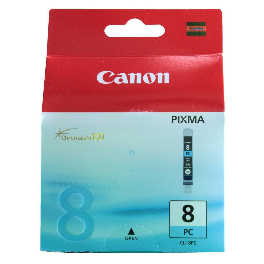 Canon cartouche jet d'encre d'origine cli-8pc photo cyan