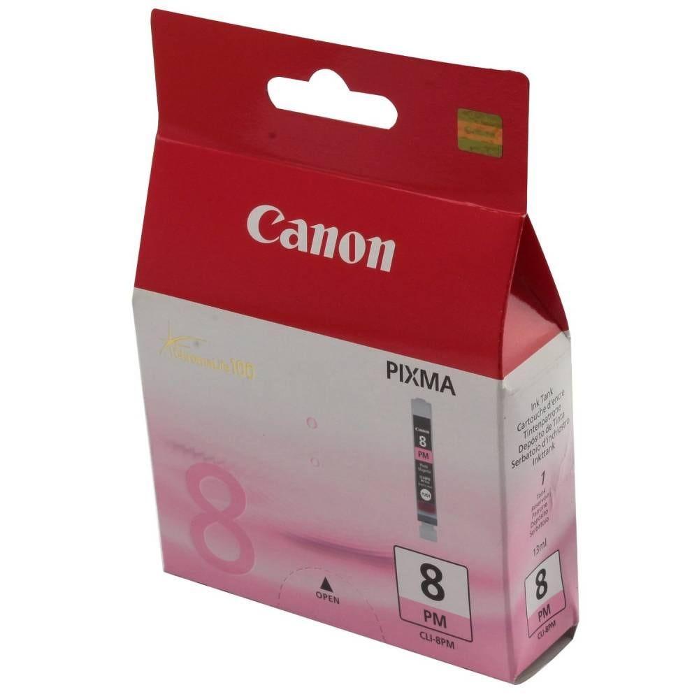 Canon cartouche jet d'encre d'origine cli-8pm photo magenta