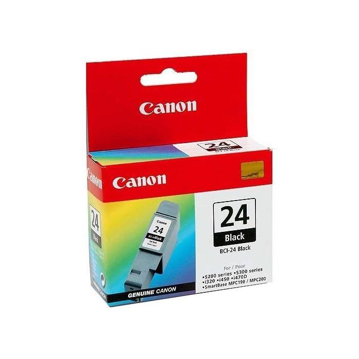 Canon cartouche jet d'encre d'origine bci24bk coloris noir