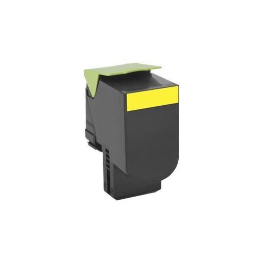 Cartouche de toner lccp, lrp - pour cx410de jaune - original