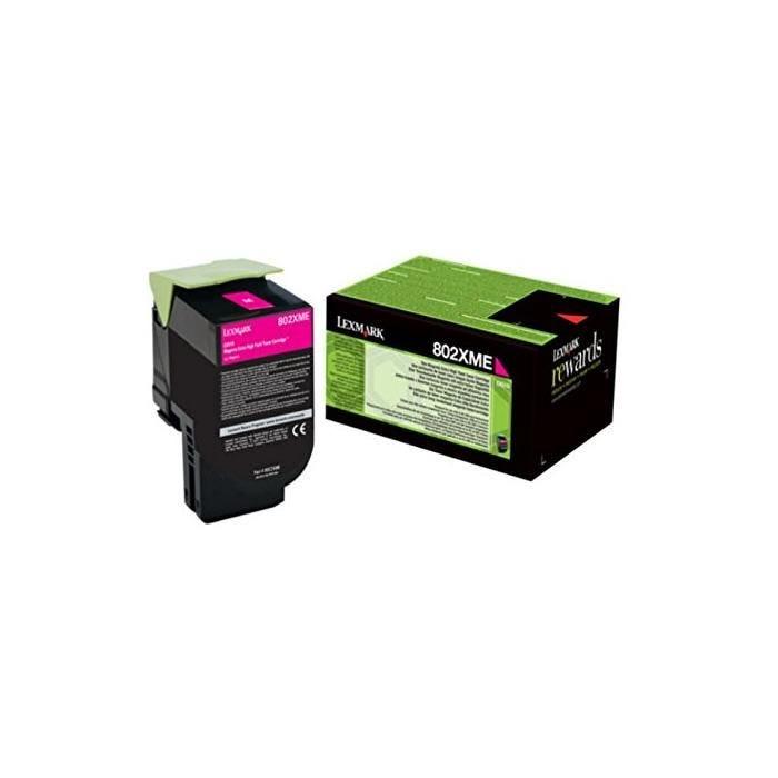 Toner laser original corporate 80c2xme 4000 pages magenta