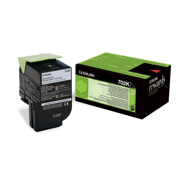 Toner laser original lrp 702k 70c20k0 1000 pages noir