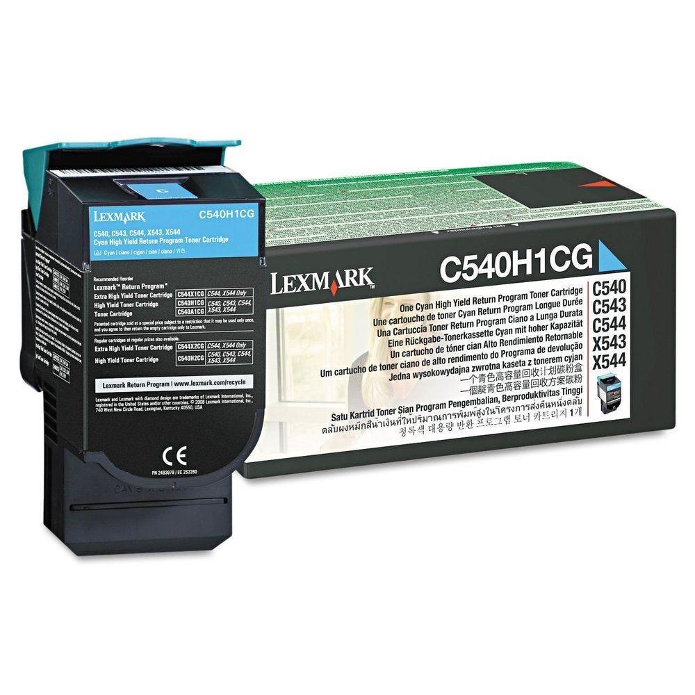 Toner laser original c540h1cg lrp hc cyan