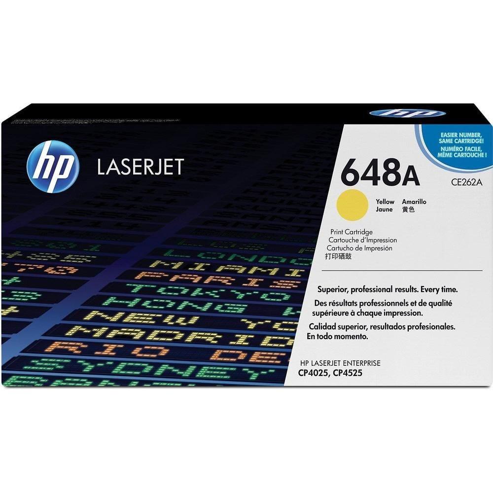 Cartouche laser ce262a jaune