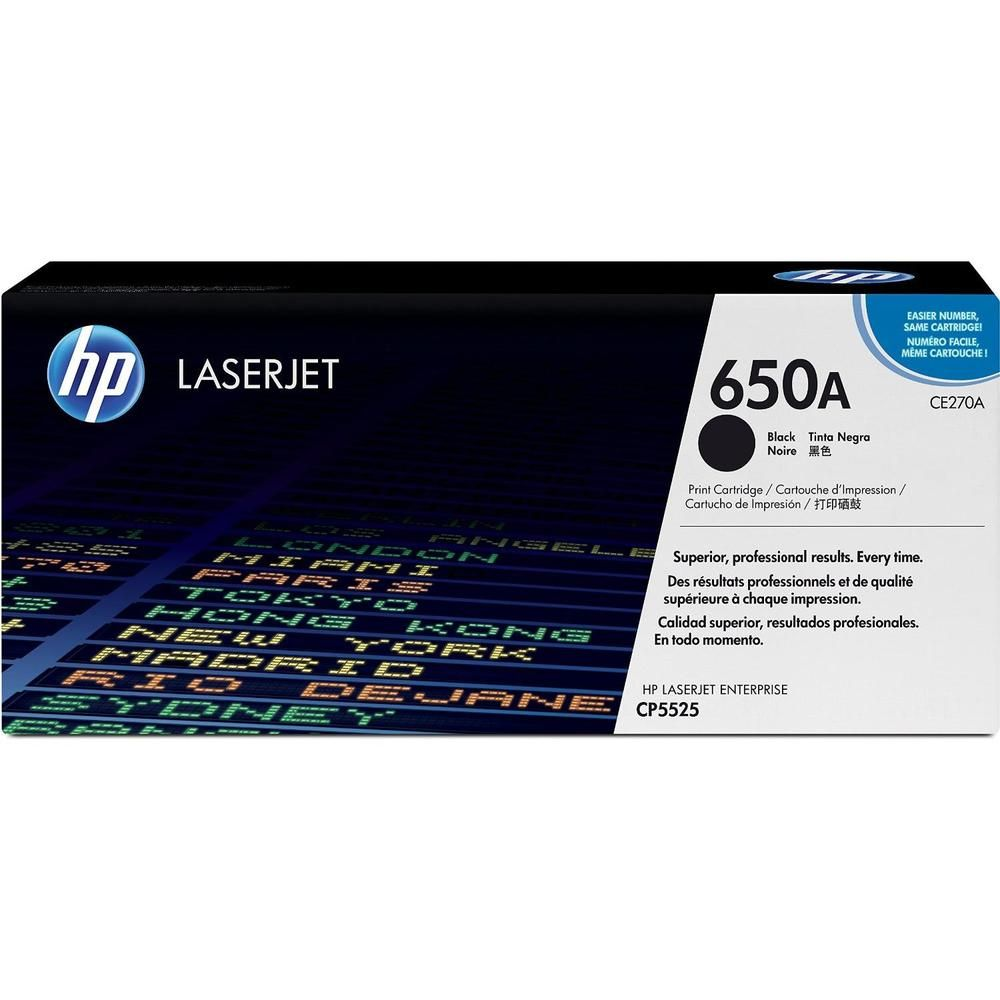 Cartouche noire laserjet ce270a