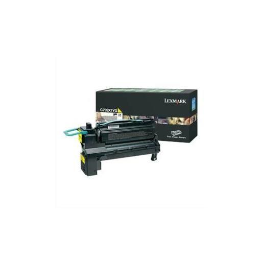 Cartouche laser jaune haute capacité pour c792-c792x1yg
