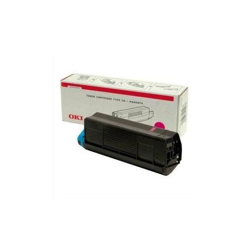 Cartouche laser couleur magenta c5100 42127406