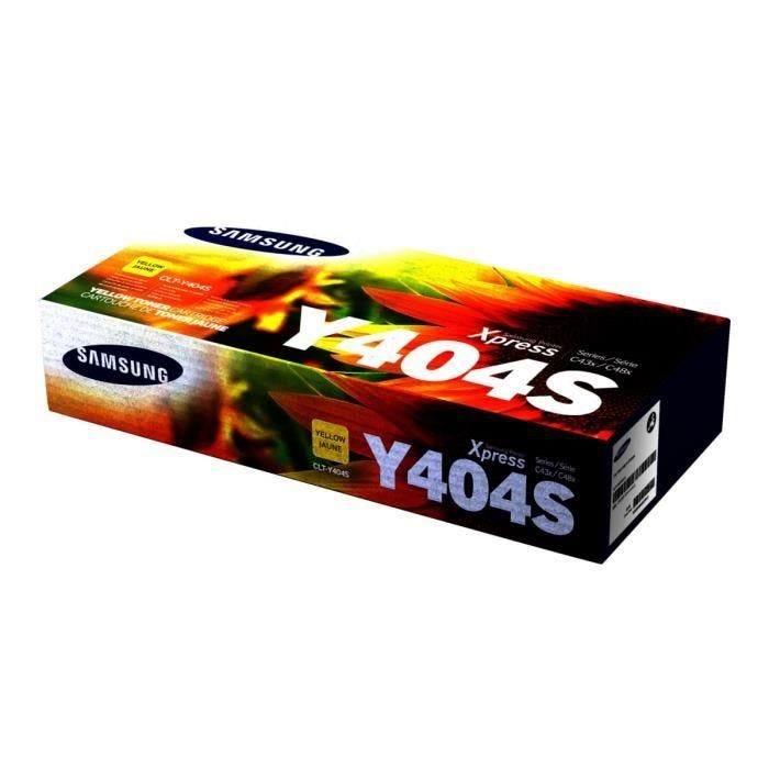 Toner laser original clt-y404s 1000 pages jaune