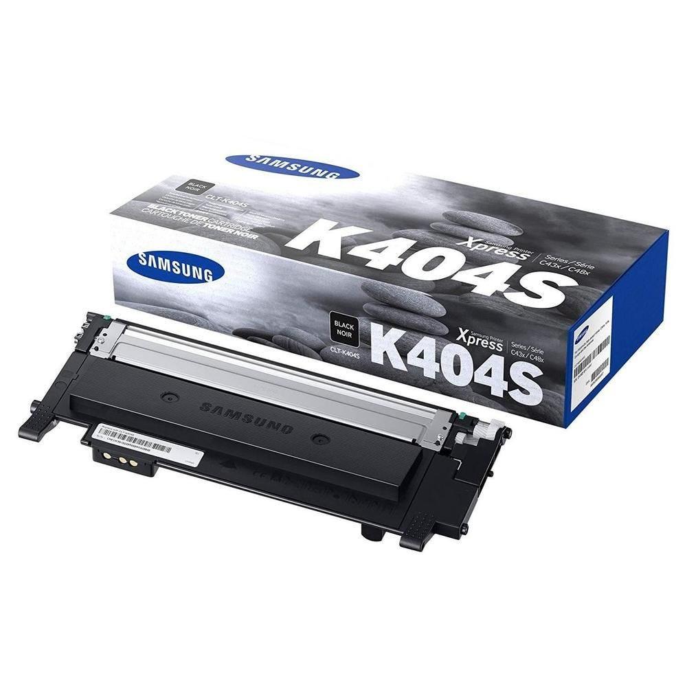 Toner laser original clt404sn (su100a) capacité 1500 pages noir