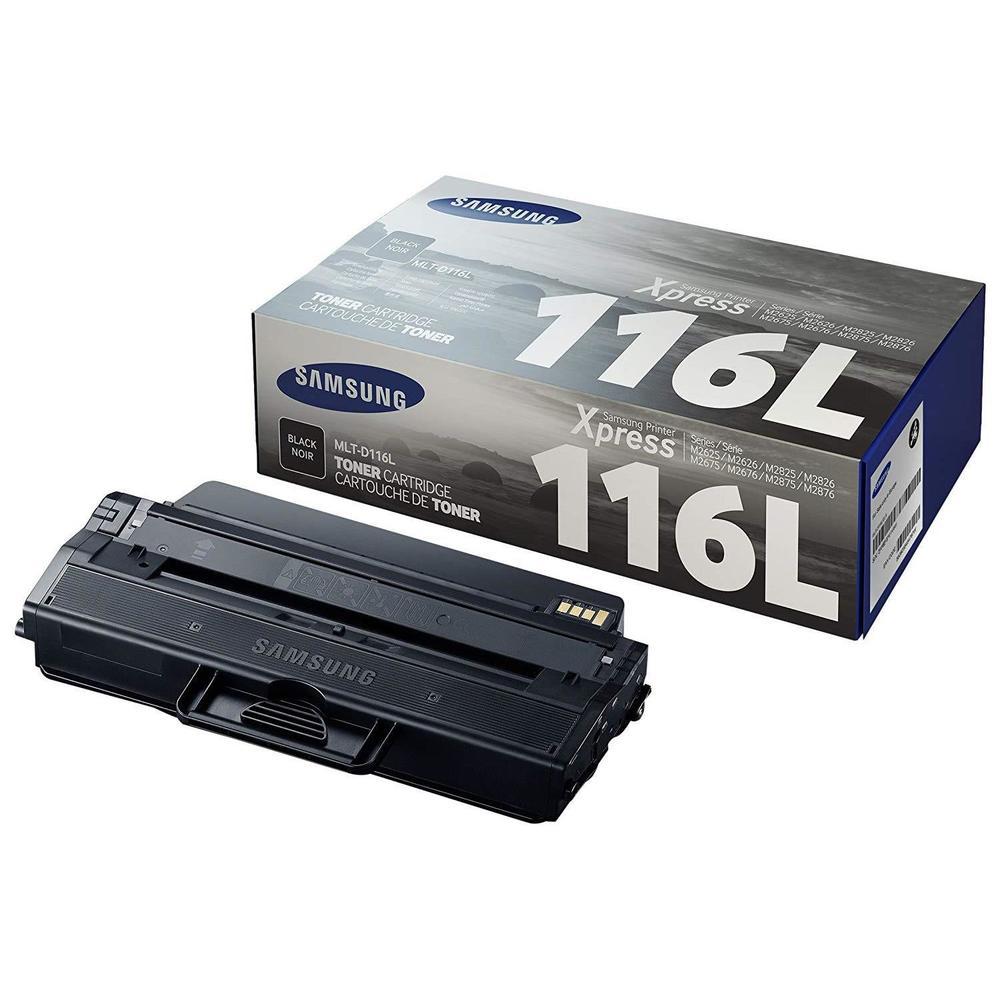 Toner laser original hp su828a mlt-d116l 3000 pages noir