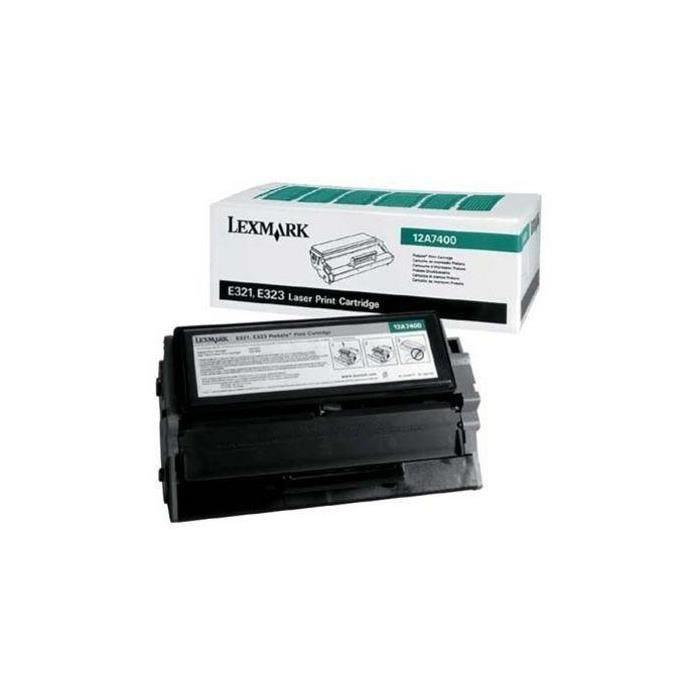 Toner prebate d'origine pour t630/t630n/t632, noir 5k pages