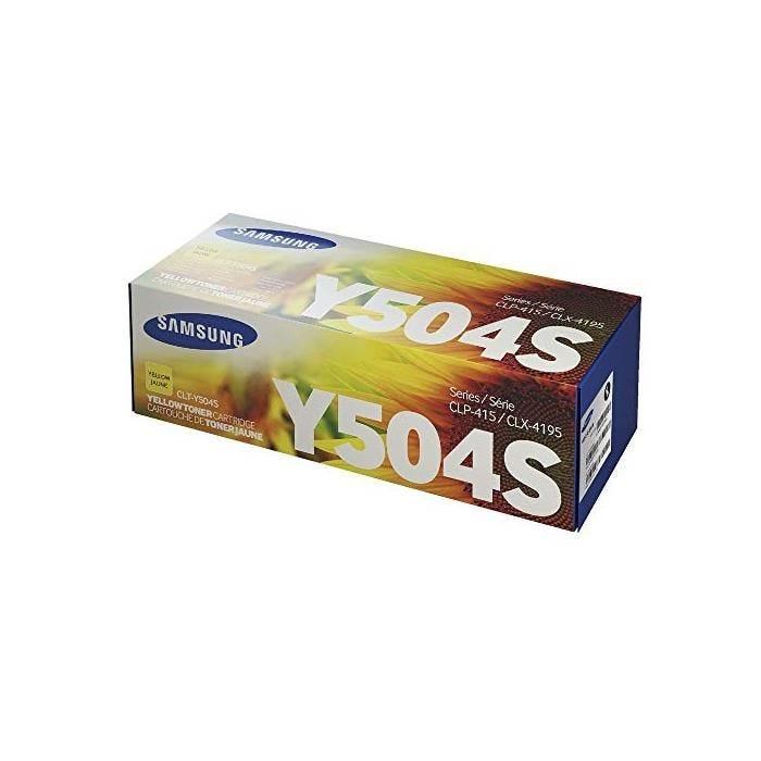 Toner pour clp415/clx4195, jaune