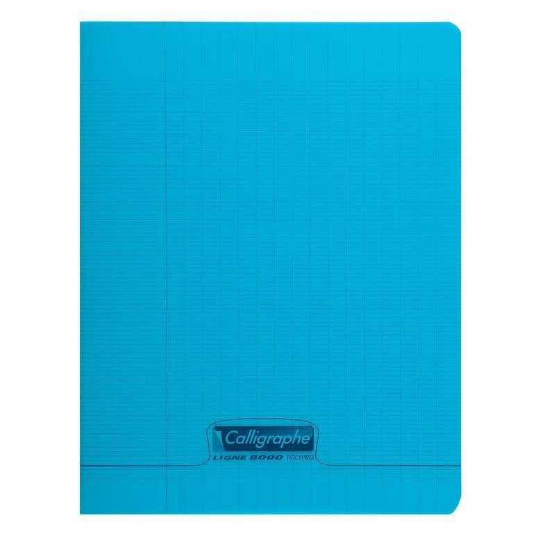 Cahier 8000 polypro, 170 x 220 mm, bleu (photo)