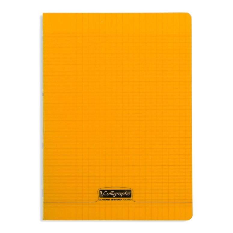 Cahier 8000 polypro, 210 x 297 mm, orange (photo)