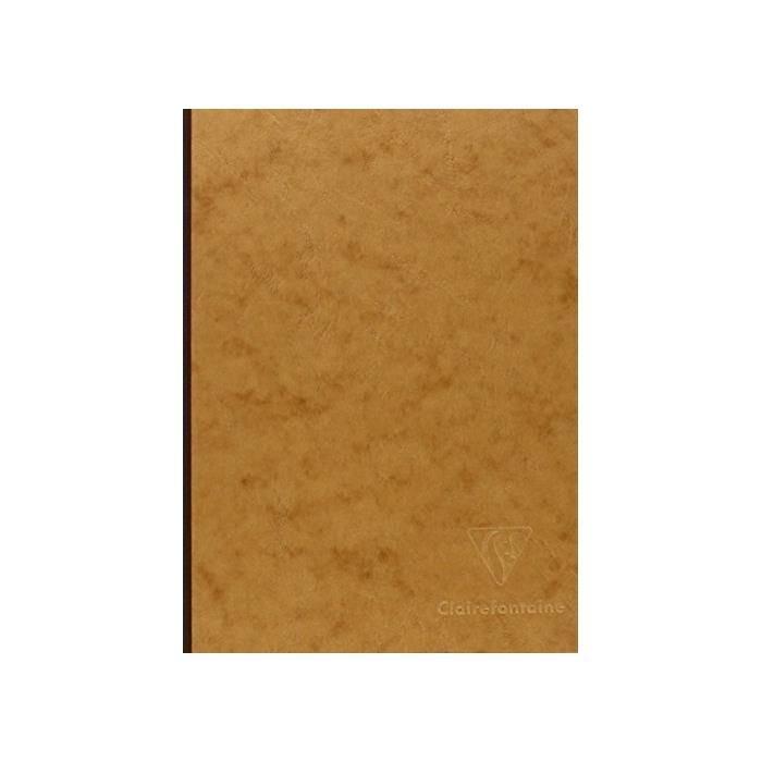 Age bag carnet broché 14, 8x21 192p uni tabac (photo)
