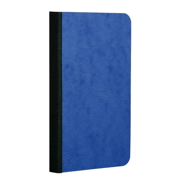 Age bag carnet broché 9x14 192p 5x5 bleu (photo)