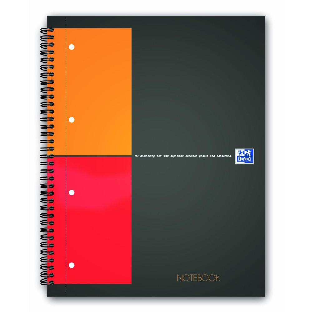 Bloc collège 'notebook' international, quadrillé a4+ 160 pages (photo)