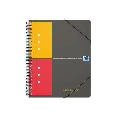 Cahier 'mettingbook' reliure intégrale 160 pages réglure 5x5 format a4+ 90g (photo)