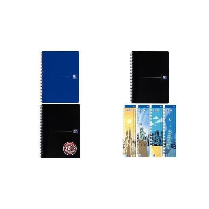 Cahier 'original blue', format a4+, bleu, quadrillé, 70f (photo)