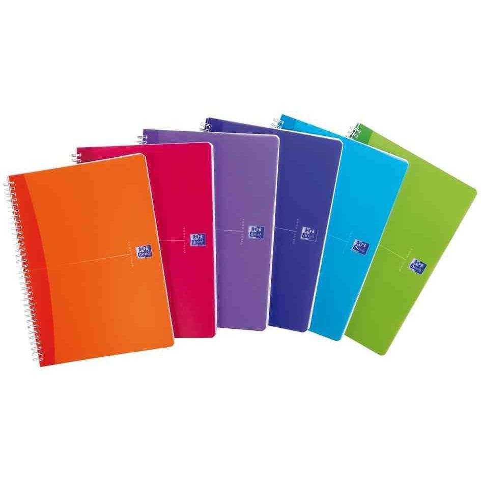Cahier 'my colours', format a4, quadrillé, 180 pages (photo)