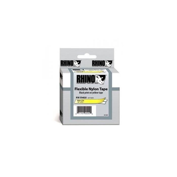 Etiquettes en nylon, largeur: 24 mm, longueur: 3,5 mm