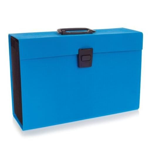 Joy Boîtes Trieur 19 compartiments Bleu