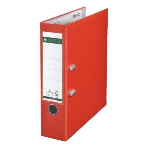 Classeur à levier 180 degrés carton dos de 85 mm Rouge